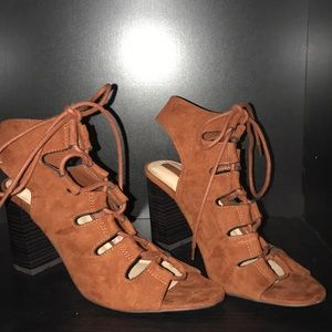 Terracota Strappy Heels